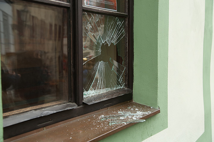 A2B Glass are able to board up broken windows while they are being repaired in Harrow On The Hill.